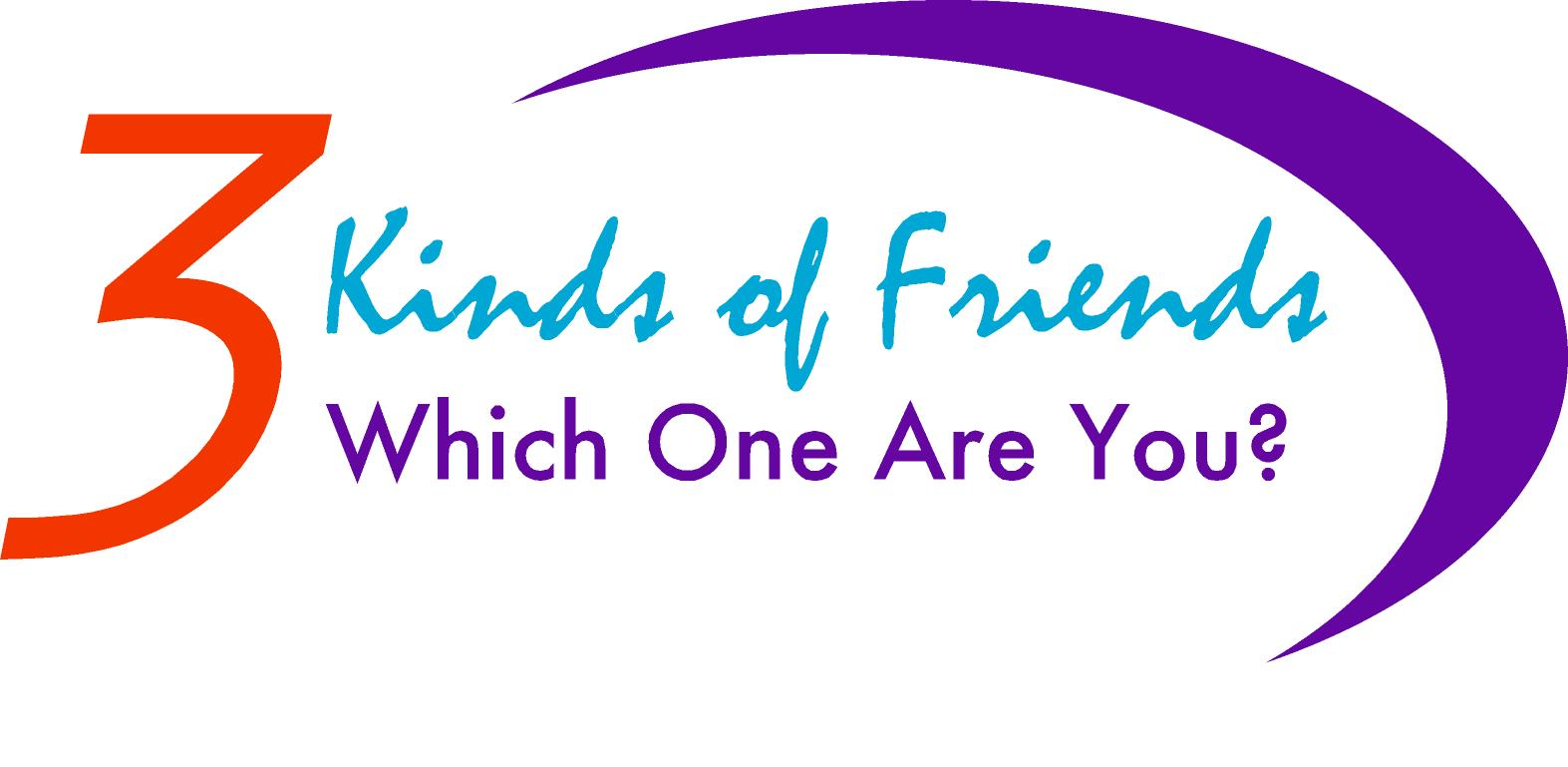 3 Kinds of Friends Logo